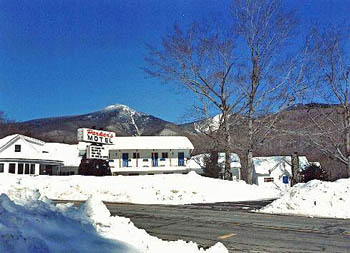 White Mountains Motel in Winter