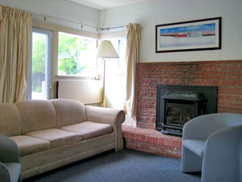 White Mountains Cottage Fireplace