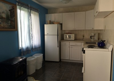 Kitchen in two bedroom unit